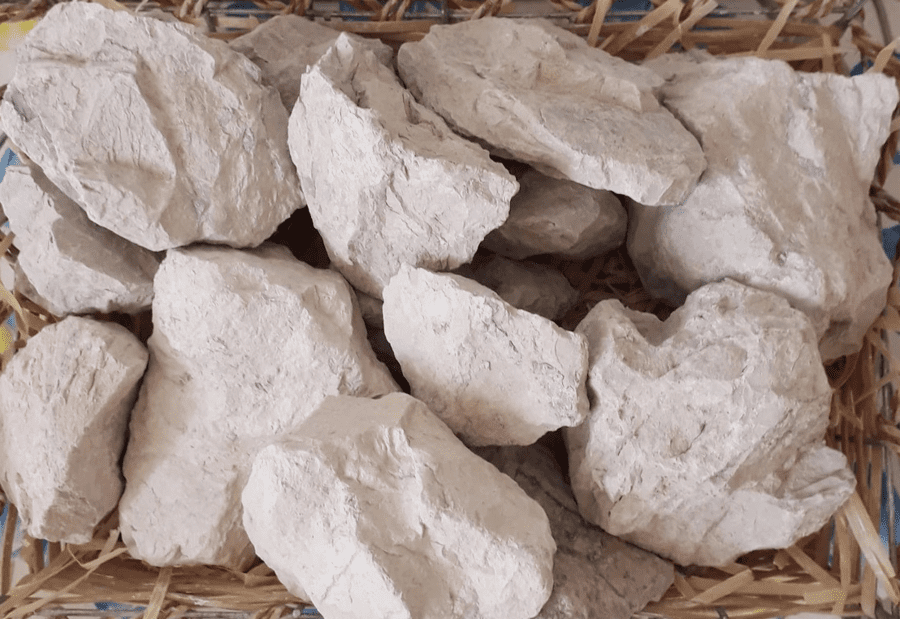 Total 1 lb // 450 g 10 species Set of samples edible natural CLAY chunks for eating